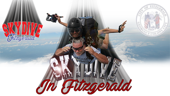 Skydive Fitzgerald is the ONLY REAL skydiving in South Georgia!